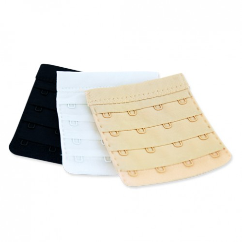 Ann West Fabric Comfort Bra Extenders 3-Piece Pack Style BE01