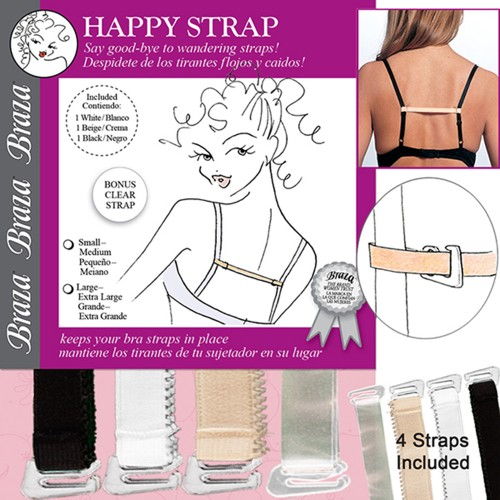 Braza Happy Strap Bra Strap Holders Package