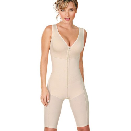 Cocoon Long Leg Body Briefer Nude Front