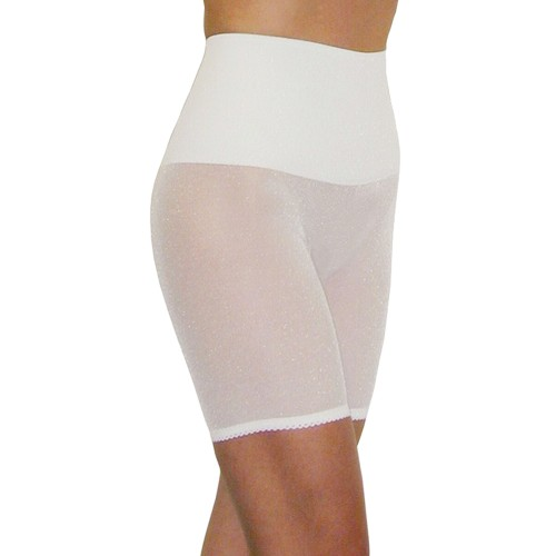 Rago Light Control Long Leg Pantie Girdle White Front