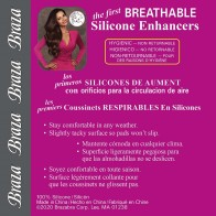 Braza Breathable Silicone Enhancement Pad Style 7101