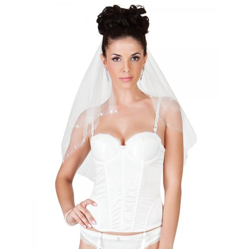 Affinitas Intimates Bridal Padded Bustier Ivory Front