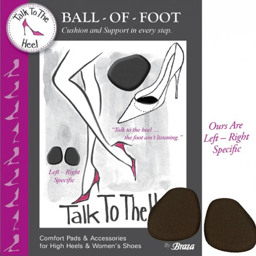 Talk To The Heel Ball of Foot Style 94002