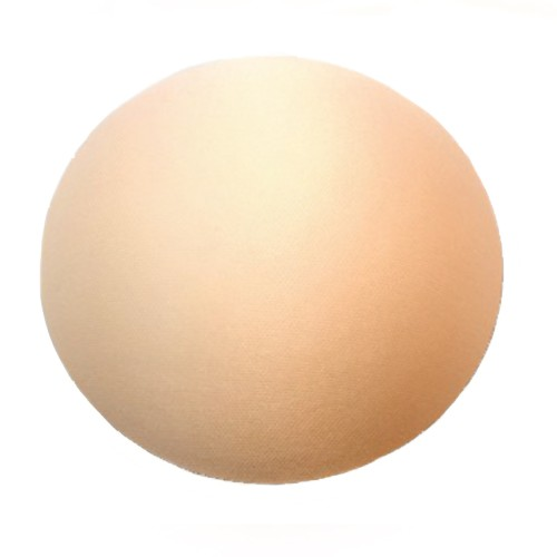 Braza Non Enhancement Covered Round Pads Foam Bra Inserts Front