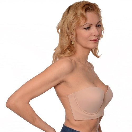 Braza The Backless Strapless Freedom Bustier Bra Style 3503