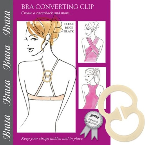 Braza Bra Converter Clip and Strap Holder Package