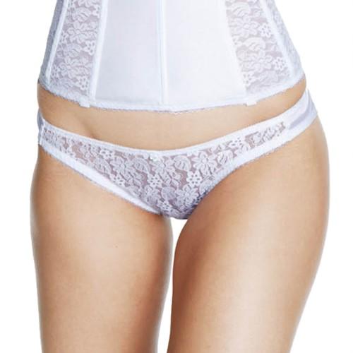 Dominique Lace Front Bikini Panty Style 549