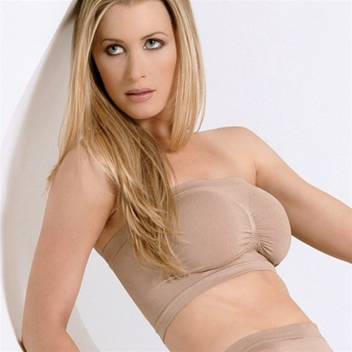 Julie France Seamless Strapless Support Bandeau Bra Style JF008