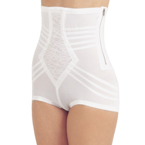 Rago Metal Zippered High Waist Pantie Girdle