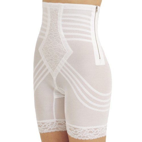 Rago Metal Zippered High-Waist Long Leg Pantie Girdle