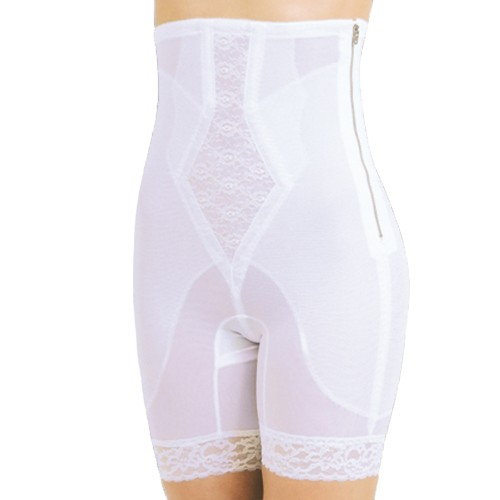 Rago Silky Smooth Zippered High Waist Long Leg Pantie Girdle
