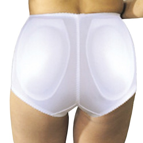 Rago Moderate Control Padded Pantie Girdle White Back