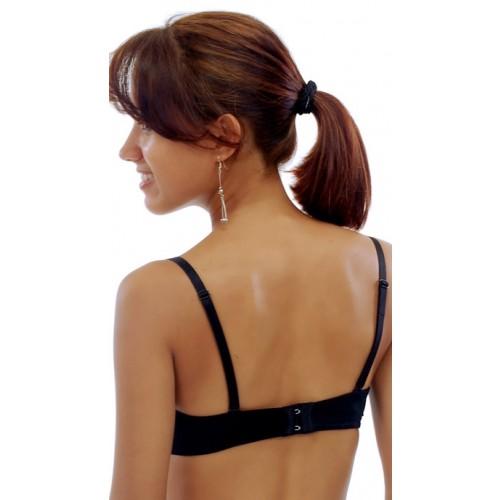 Lauren Silva Heart Rhinestone Bra Strap Style 53058