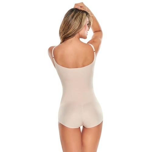 TrueShapers Seamless V-neck Bodysuit Style 1280