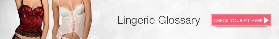 Lingerie Glossary