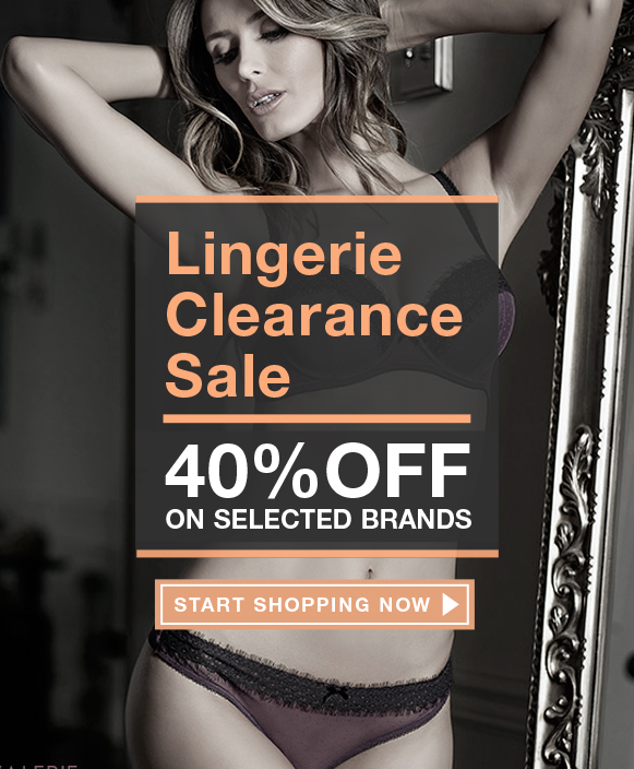 Lingerie Clearance Sale
